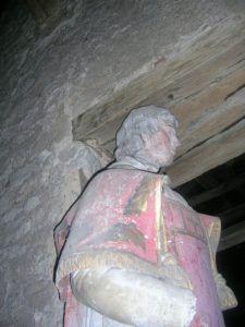 Eglise statue
