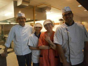 Restaurant équipe