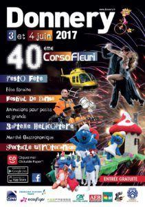 Corso fleuri 2017 - Affiche